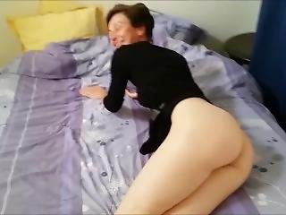 French Milf Spread And Get Assfucked