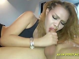 Gold Latex Anal Nose Piercing