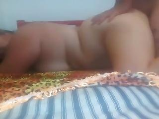 Indian Milf Chubby Fucked In Bedroom