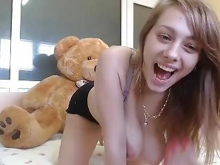 amatör, brud, onani, solo, spruta, leksaker, webcam