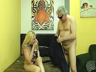 Hooker Makes Small Penis Customer Lick Her Asshole - Leya Falcon