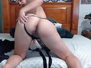 Hairy Femdom Nympho Helen With Pierced Nipples Gets Cum