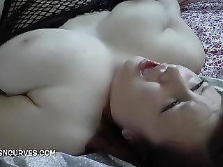 Young Lady Taking A Big Mature Cock