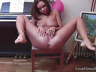 Outstanding Girl Spreads Her Legs And Masturbates