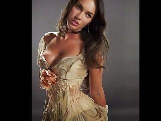 Megan Fox Jerk Off Challenge W/ Orgasm Sound