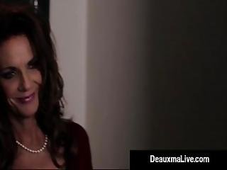 Busty Texas Cougar Deauxma Fucks Her Hotel Room Service Guy