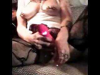 Stella Tweaked Playimg With Her.pussy