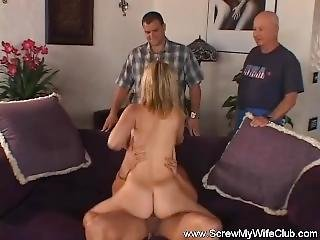 Pretty Housewife Screws Another Man
