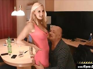 The Pretty Daughter Of The Work Colleague Pumped Full Of Ass