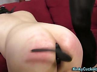 Fetish Domina Rides Dick