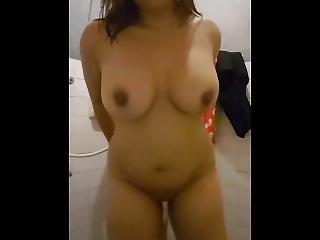 2 Girls Fun At Bathroom