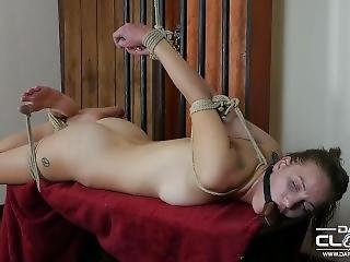 Hogtied And Block Gagged
