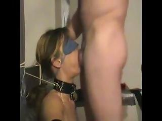 Blindfold And Collar