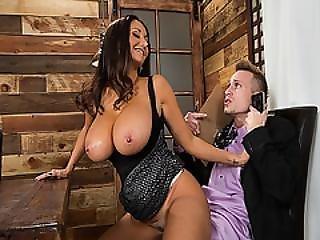 Ava Addams Sat On Bill Baileys Big Throbbing Cock