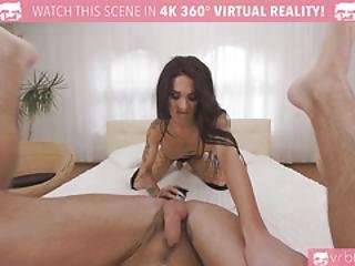 Vrbtrans.com-busty Mia Maffia Get Her Ass Punded By A Young Stud Shemale Vr Porn