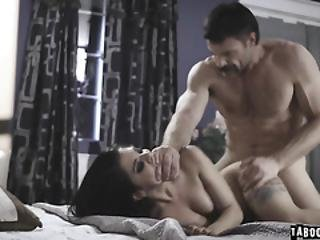 The Man Finishes Fucking Trix With A Big Creampie