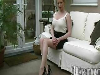 Hot Milf Talks About Mens Fetish For Women Wearing Elegant Sexual Stiletto Heels