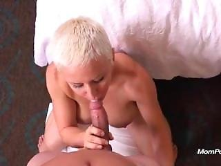 Short Haired Perfect Body Milf Naomi Gets Stuffed With Cock