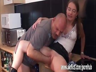 Fat Old Pervert Fisting Skinny Teens Ruined Pussy