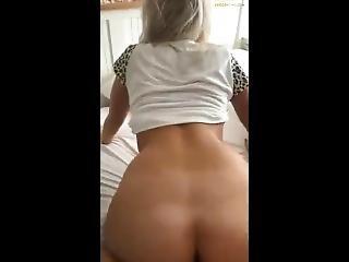 Hot Girlfriend Riding Hard! Go Brunetters Dot Com 4 More