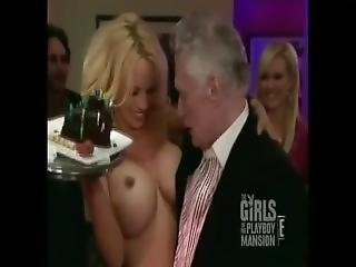 Playboy - Pamela Anderson Naked At The Party