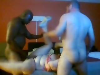 Wife From Sexdatemilf Split Roasted In Motel