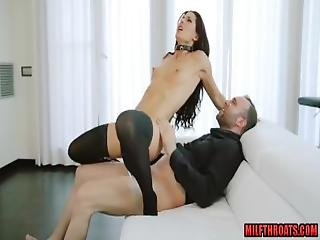 Brunette Milf Hardcore And Cumshot