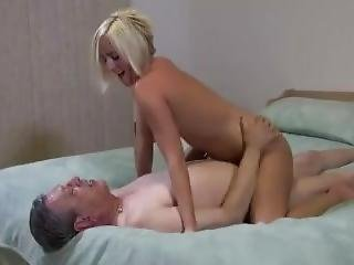 Teen Takes Anal From Older Man