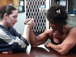Fbb Vs. Amazon In Armwrestling