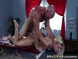 Brazzers - Dirty Masseur - Addicted To Ass Massages Scene Starring Jessie Volt And Johnny Sins