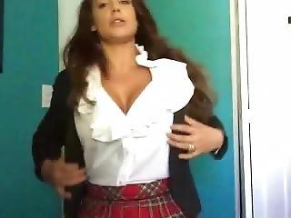 Arsch, Fetter Arsch, Gross Titte, Promi, Schule, Solo