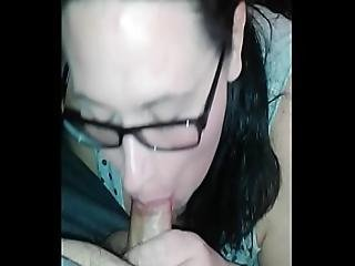 Deepthroat Cum In Mouth