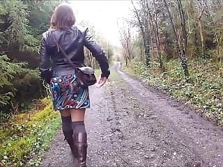 Forest Nude Walk Looking For Cock