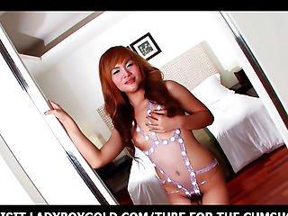anale, asiatica, bikini, culo, trans, lingerie, mutandine, transessuale, da sola, provocatoria, travestito, tailandese, giocattoli