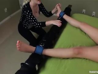 Amanda Tickle Torture Piggy