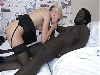 Helena Moeller Sucks A Bbc Big Black Cock