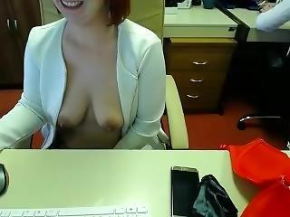 μεγάλο βυζί, μελαχροινή, φετίχ, αυνανισμός, γραφείο, ρωσικό, γραμματέας