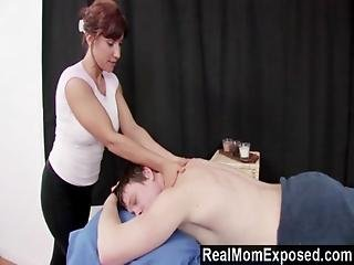 Realmomexposed - Experienced Masseuse Can T Resist A Young Cock