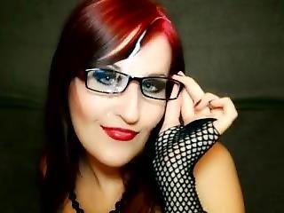 Cum On My Glasses After Handjob