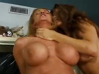 Big Fat Cock Fucks Two Two Giant Titied Sluts
