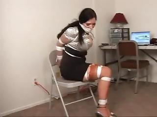 Bondage, Star Du Porno, Secrétaire, Solo