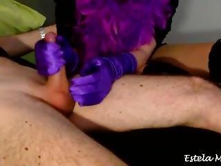 Estela - Pov Frenulum Handjob And Post Orgasm Tickling