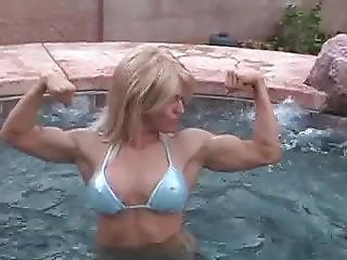 Blue Bikini Muscle