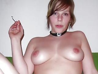 dikke tiet, slet, blonde, compilatie, milf, sexy, roken