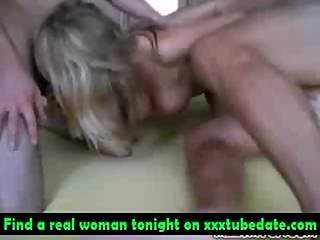 Blonde Girl Gangbanged In Hotel