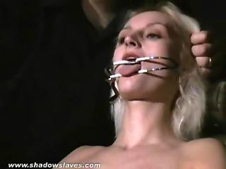 Bdsm, Blonde, Bondage, Extreme, Hardcore, Pain, Slave, Tied, Torture