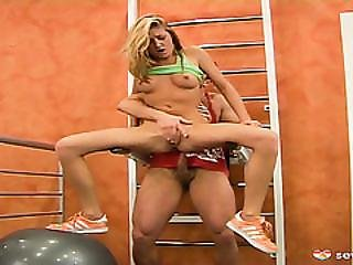 Slutty Paula Gets To Lean How To Fuck At Gym By Instructor Hard Cock