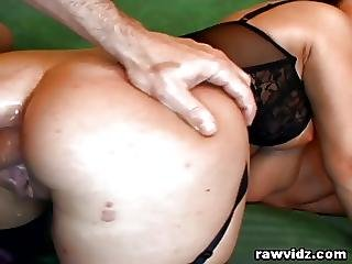 Horny Cunt Jessica Gets Nasty Ass Double Penetration