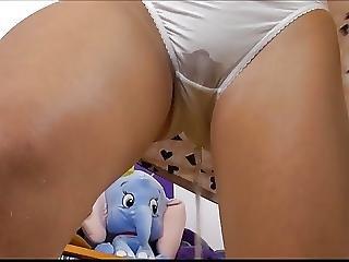 Dripping White Panties