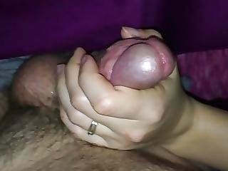 Unaware Handjob Till I Cum
